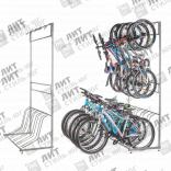 Стойки под велосипеды